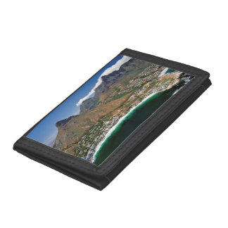 Aerial View Of Atlantic Seaboard Showing Clifton Trifold Wallet