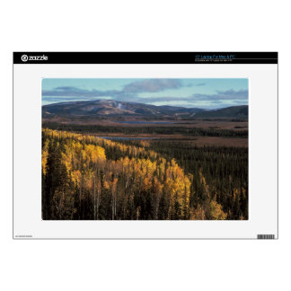 AERIAL VIEW OF AUTUMN LANDSCAPE DECALS FOR LAPTOPS