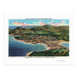 Aerial View of Bar Harbor and Cadillac Post Cards