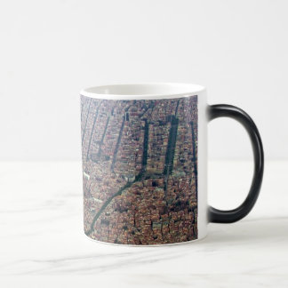 Aerial view of Barcelona Magic Mug