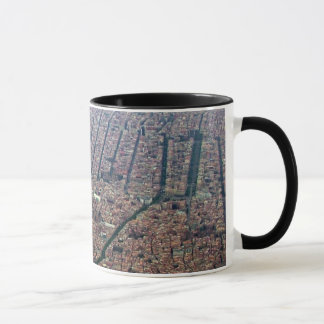 Aerial view of Barcelona Mug