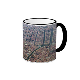 Aerial view of Barcelona Ringer Mug