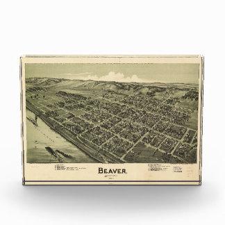 Aerial View of Beaver Pennsylvania (1900) Award