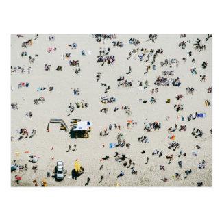 Aerial view of Bondi Beach, Sydney Australia Postcard