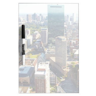 Aerial view of Boston 2 Dry-Erase Board