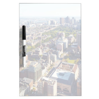 Aerial view of Boston Dry Erase Board