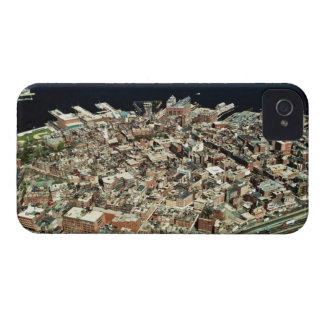 Aerial view of Boston, MA iPhone 4 Case-Mate Cases