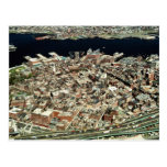 Aerial view of Boston, MA Post Card