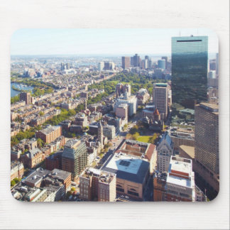 Aerial view of Boston Mouse Pad