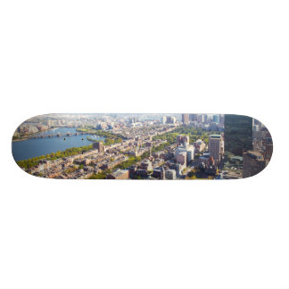 Aerial view of Boston Skateboard