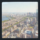"Aerial view of Boston Stone Coaster<br><div class=""desc"">Aerial view of Boston</div>"