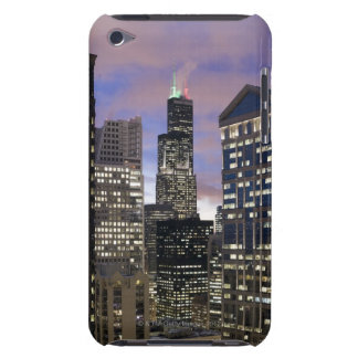 Aerial view of buildings in the Chicago Loop, Barely There iPod Cover