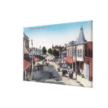 Aerial View of Business SectionSelma, CA Canvas Print