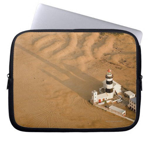 Aerial view of Cape Recife Lighthouse, Nelson Laptop Computer Sleeve