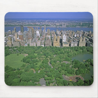 Aerial view of Central Park and the west side Mouse Pad
