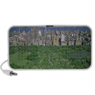 Aerial view of Central Park and the west side Notebook Speakers