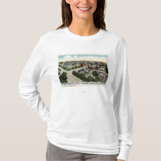 Aerial View of City Hospital T-Shirt