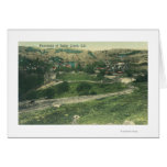 Aerial View of CitySutter Creek, CA Card