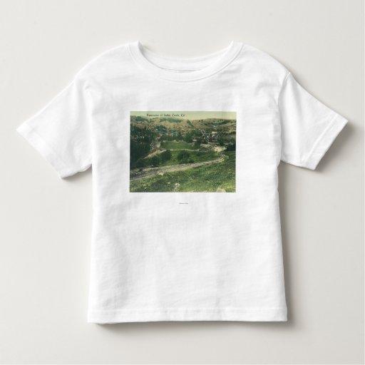 Aerial View of CitySutter Creek, CA Tee Shirt