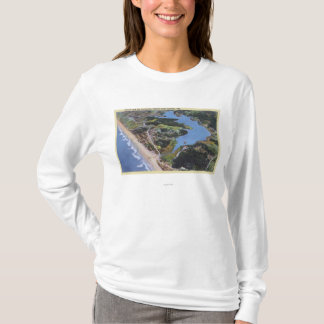 Aerial View of Devil's Lake T-Shirt