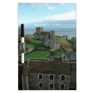 Aerial View of Dover Castle Dry Erase Board