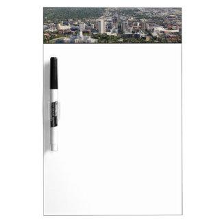Aerial view of downtown Salt Lake City, Utah Dry-Erase Board