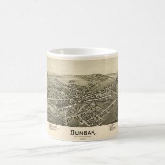 Aerial View of Dunbar, Pennsylvania (1900) Coffee Mug