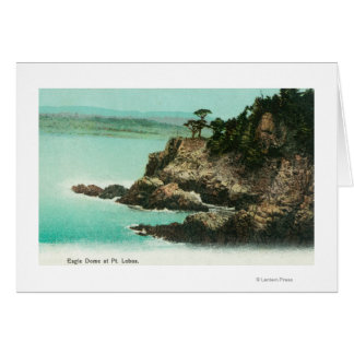 Aerial View of Eagle Dome at Point Lobos Card