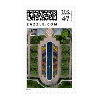 Aerial view of Ewing and Muriel Kauffman Memorial Postage