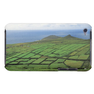 aerial view of farmland by the sea Case-Mate iPod touch case