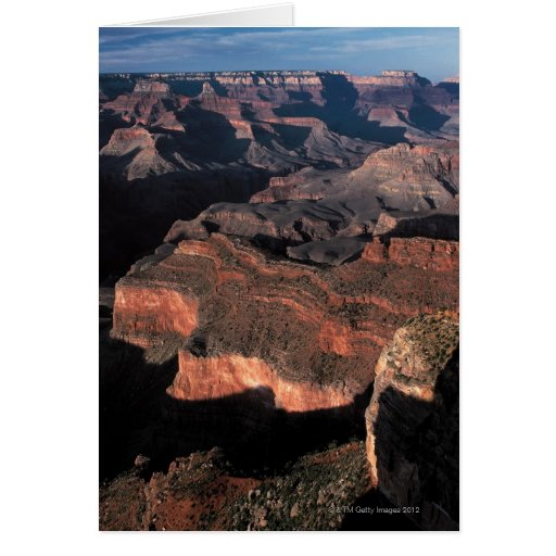 Aerial view of Grand Canyon , Arizona Cards