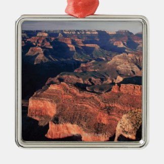 Aerial view of Grand Canyon National Park , Square Metal Christmas Ornament