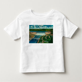Aerial View of Grand Coulee Dam Toddler T-shirt