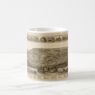 Aerial View of Harriman, Tennessee (1892) Coffee Mug