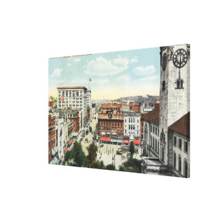 Aerial View of Harrington Corner Canvas Print