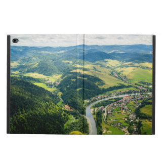 Aerial View Of Hills Landscape With River Powis iPad Air 2 Case