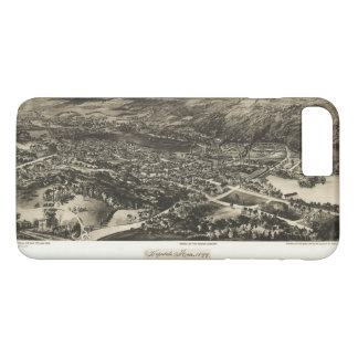 Aerial View of Hopedale, Massachusetts (1899) iPhone 7 Plus Case