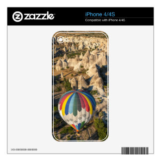 Aerial View Of Hot Air Balloons, Cappadocia Decal For The iPhone 4S