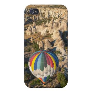Aerial View Of Hot Air Balloons, Cappadocia iPhone 4 Case
