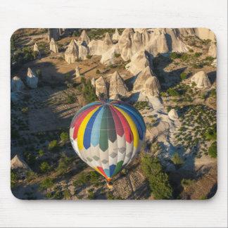 Aerial View Of Hot Air Balloons, Cappadocia Mouse Pad