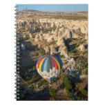 Aerial View Of Hot Air Balloons, Cappadocia Note Books