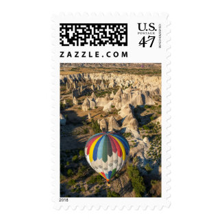 Aerial View Of Hot Air Balloons, Cappadocia Postage Stamp