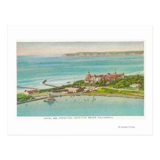Aerial View of Hotel del Coronado Postcard