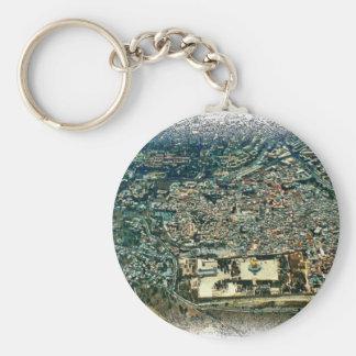Aerial View of Jerusalem Keychain