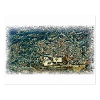 Aerial View of Jerusalem Postcard