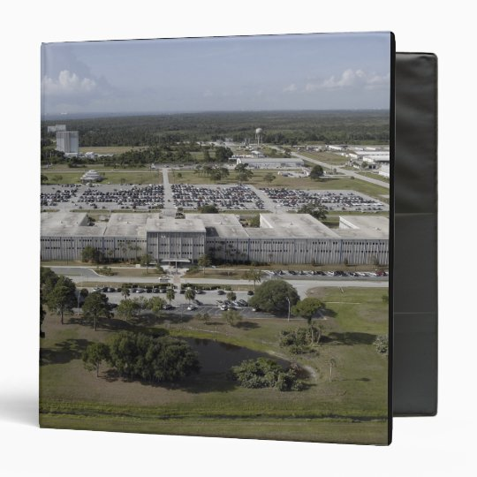 Aerial view of Kennedy Space Center Binder