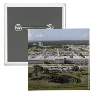 Aerial view of Kennedy Space Center Pinback Button