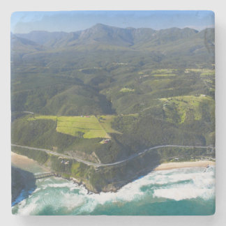 Aerial View Of Keurbooms River, Garden Route Stone Coaster