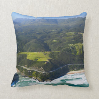 Aerial View Of Keurbooms River, Garden Route Pillows