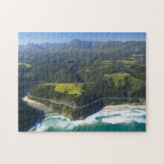 Aerial View Of Keurbooms River, Garden Route Jigsaw Puzzle